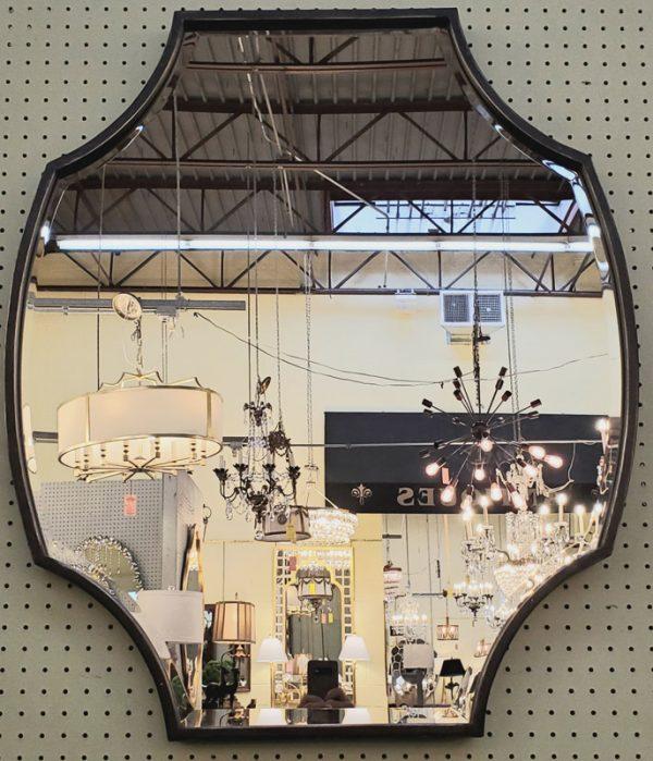 Anna's Mostly Mahogany Consignment - Black Framed Mirror