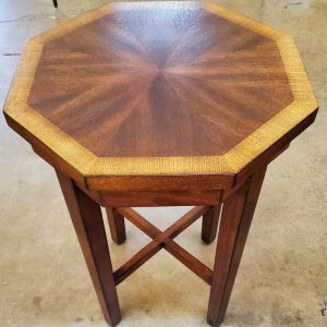 Anna's Mostly Mahogany Consignment - Mahogany Octagon Side Table