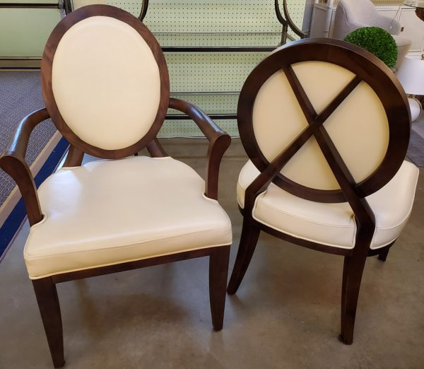 Anna's Mostly Mahogany Consignment - 8 Baker Furniture Dining Chairs