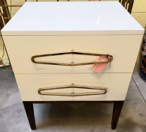 Anna's Mostly Mahogany Consignment - White Two Drawers Chest