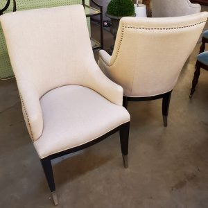 Anna's Mostly Mahogany Consignment - Pair of Arm Chairs