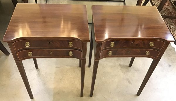 Anna's Mostly Mahogany Consignment - Pr End Tables