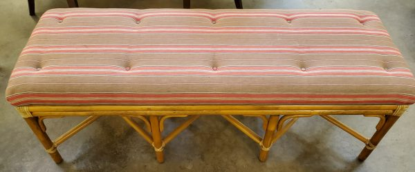 Anna's Mostly Mahogany Consignment - Bamboo Bench