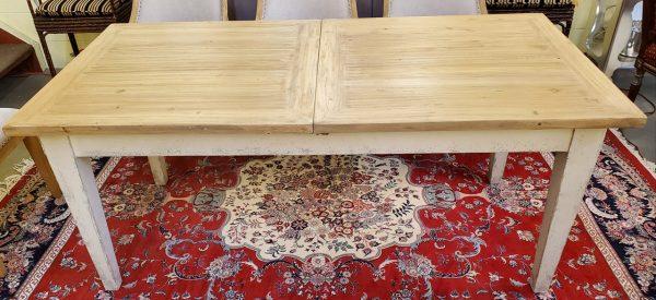 Anna's Mostly Mahogany Consignment - Pine Farm Table
