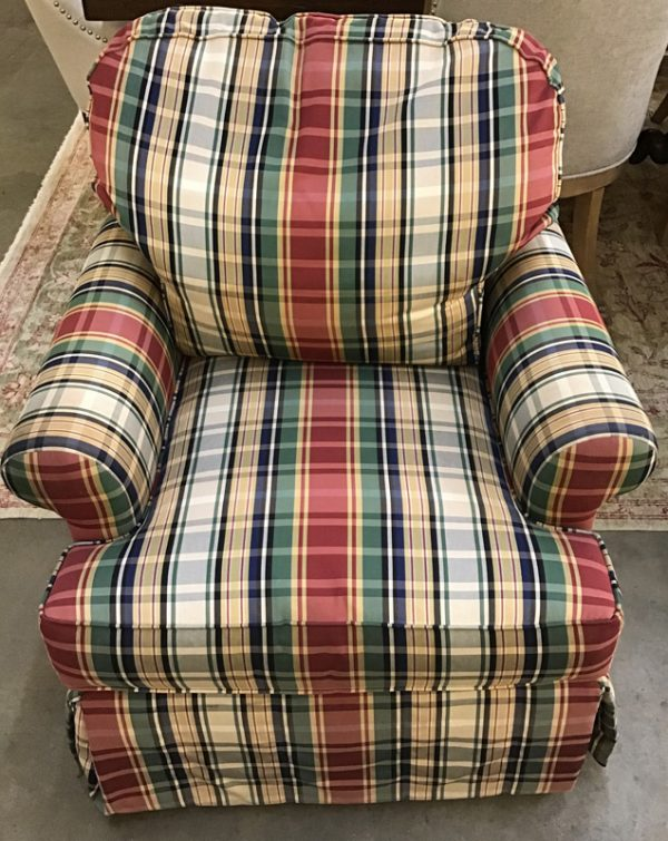 Anna's Mostly Mahogany Consignment - Pr Club Chairs