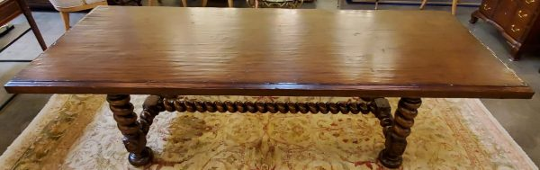 Anna's Mostly Mahogany Consignment - Oak Dining Table