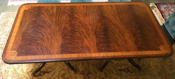 Anna's Mostly Mahogany Consignment - Mahogany Dining Table