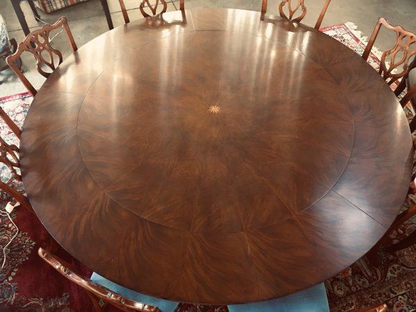 Anna's Mostly Mahogany Consignment - Mahogany Round Dining Table