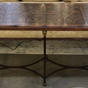 Anna's Mostly Mahogany Consignment - Walnut Console Table