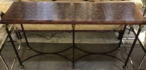 Anna's Mostly Mahogany Consignment - Walnut Console Table