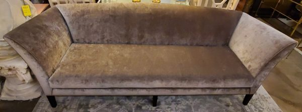 Anna's Mostly Mahogany Consignment - French Wing Sofa