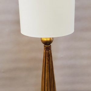 Anna's Mostly Mahogany Consignment - Pr Gold Tassel Lamps