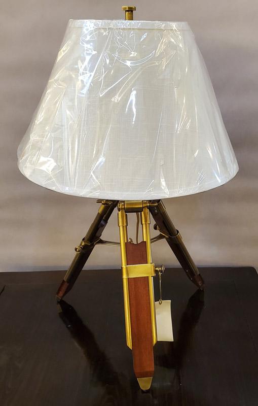 Anna's Mostly Mahogany Consignment - Tripod Lamp