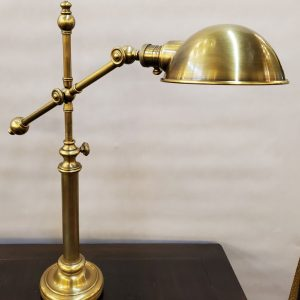 Anna's Mostly Mahogany Consignment - Brass Desk Lamp