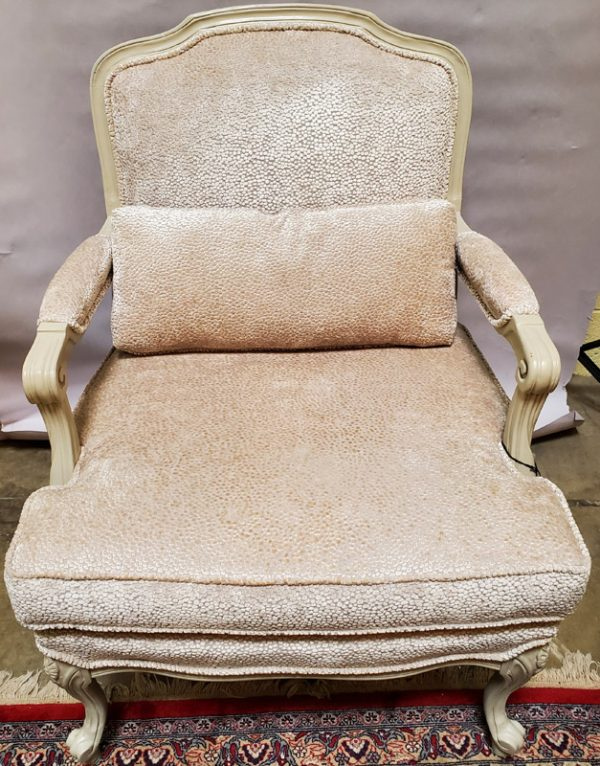 Anna's Mostly Mahogany Consignment - Pr Bergere Chairs