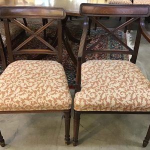 Anna's Mostly Mahogany Consignment - Set 10 Antique Chairs