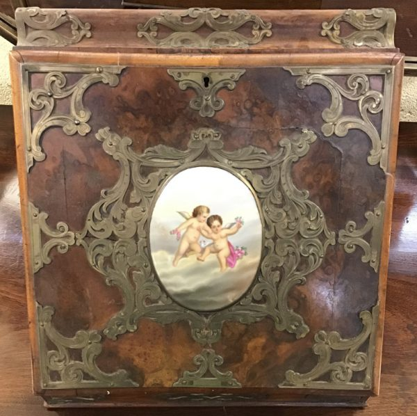 Anna's Mostly Mahogany Consignment - Antique Walnut Writing Box