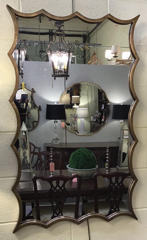 Anna's Mostly Mahogany Consignment - Bronzed Mirror