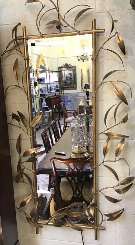 Anna's Mostly Mahogany Consignment - Gold Foliage Mirror