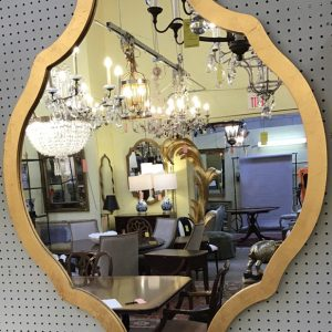 Anna's Mostly Mahogany Consignment - Gilded Mirror