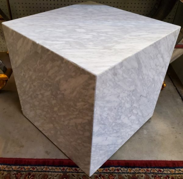 Anna's Mostly Mahogany Consignment - R.H. Marble Cube