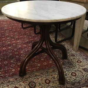 Anna's Mostly Mahogany Consignment - French Marble Table