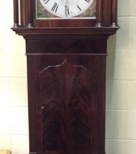 Anna's Mostly Mahogany Consignment - Antique Georgian Style Grandfather Clock