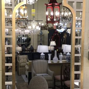 Anna's Mostly Mahogany Consignment - Modern Mirror