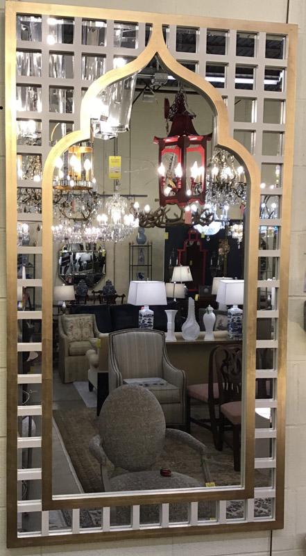 Anna's Mostly Mahogany Consignment - Modern Mirror