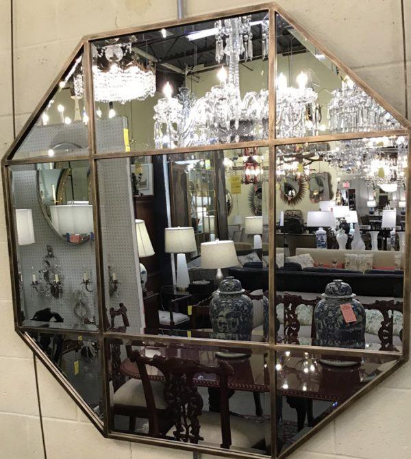 Anna's Mostly Mahogany Consignment - Octagon Mirror