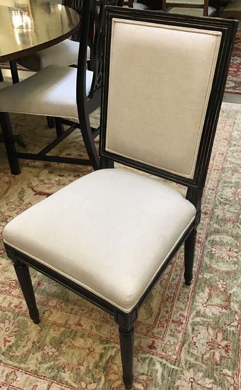 Anna's Mostly Mahogany Consignment - Set 8 Dining Chairs