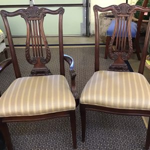 Anna's Mostly Mahogany Consignment - Set 10 Dining Chairs