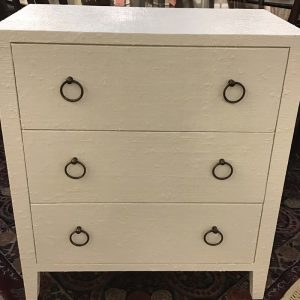 Anna's Mostly Mahogany Consignment - Three Drawer Chest